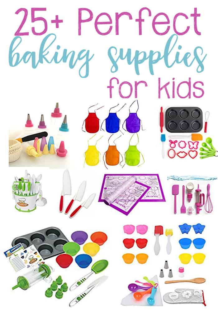 25+ Perfect Baking Supplies for Kids