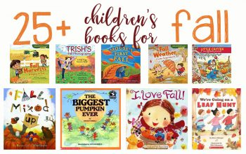 25 Perfect Fall Books for kids! Learn about pumpkins, apples, leaves, changing seasons and more with these exciting books.