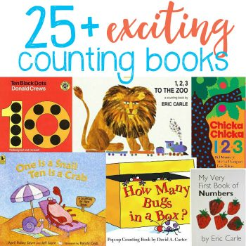 25+ Exciting Counting Books To Help Children Understand Numbers.