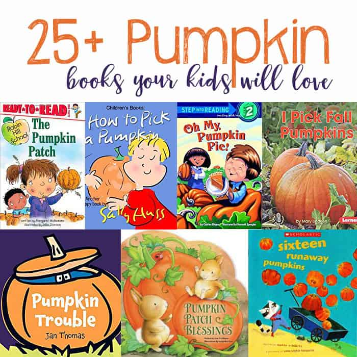 25+ Pumpkin Books You & Your Kids Will Love
