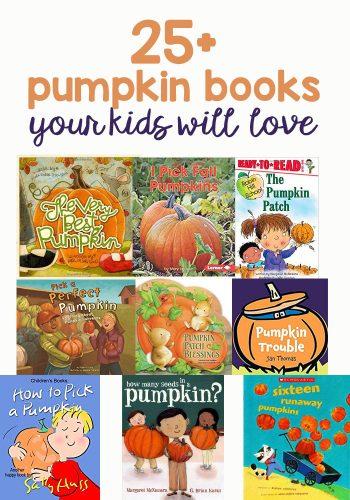 25+ Pumpkin Books You & Your Kids Will Love