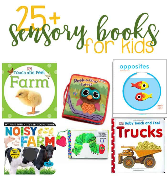 25+ Sensory Books For Children To Help Encourage Development