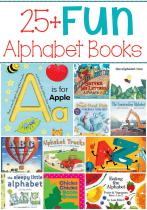 25+ Fun Alphabet Books for Kids