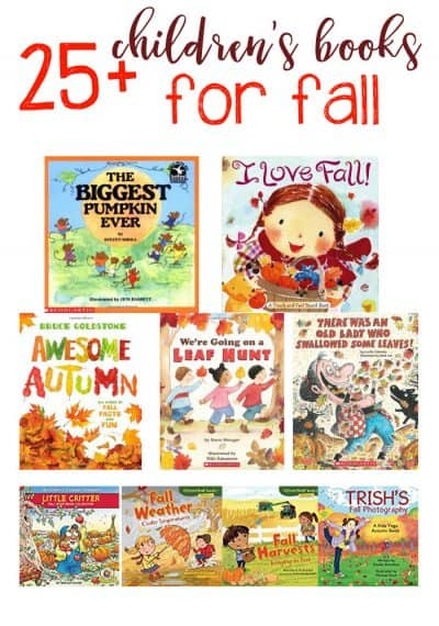 25+ Perfect Fall Books for Kids