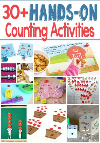 30 Hands-On Counting Activities for Kids