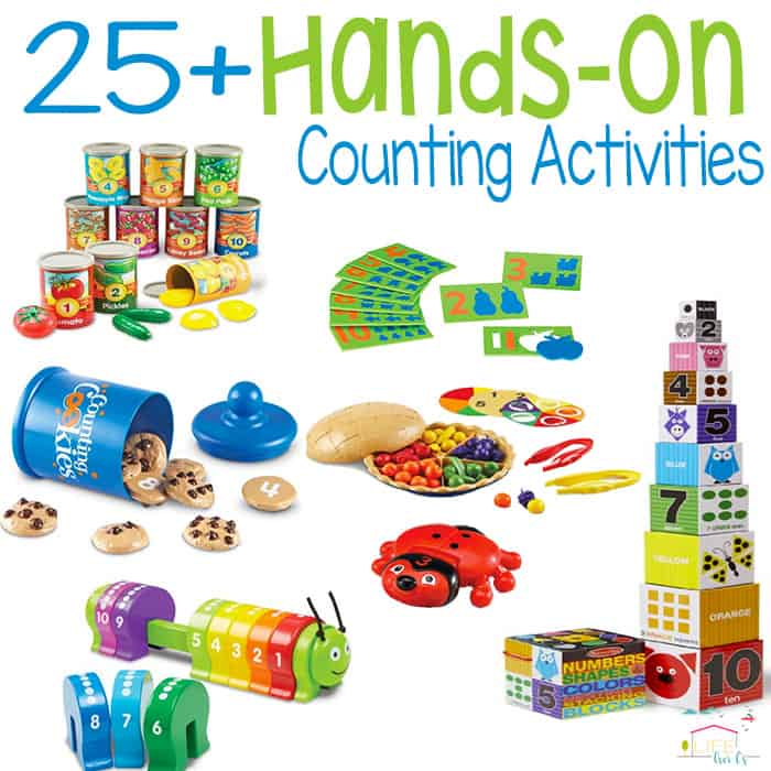 25+ Hands-On Counting Tools