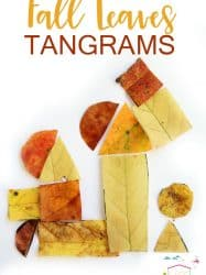 Fall Leaves Tangram Activity