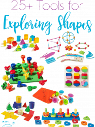 25+ Shape Toys and Activities for Kids