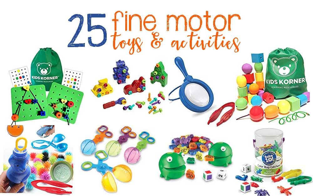 25 toys to help children develop fine motor skills for Toys to develop fine motor skills in babies