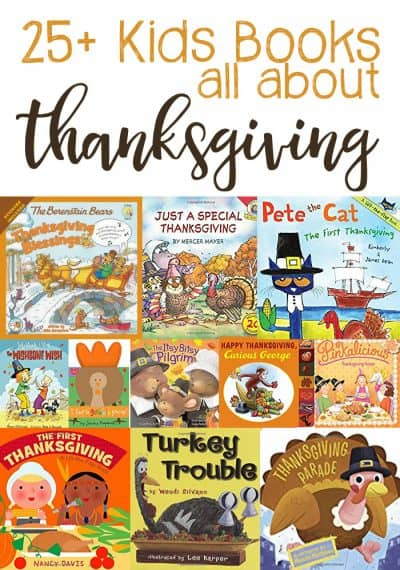 25+ Thanksgiving Books for Kids