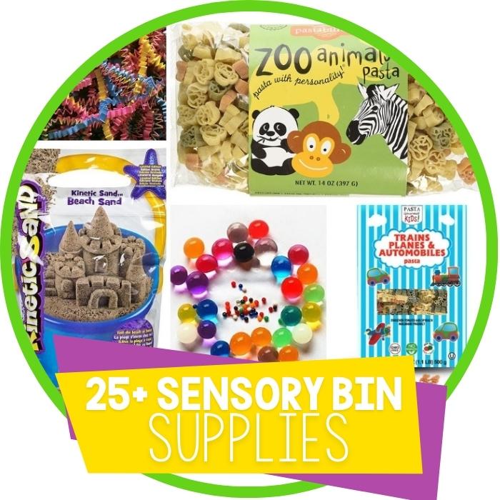 25+ Amazing Sensory Bin Fillers