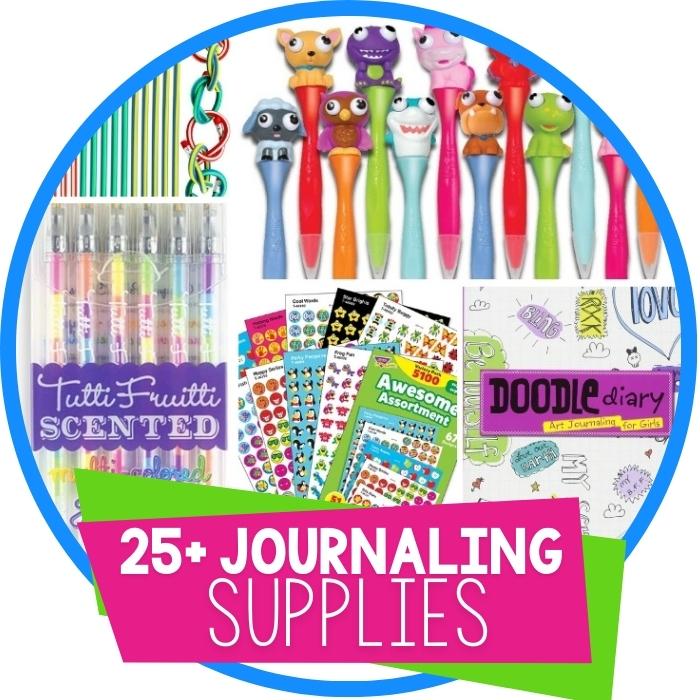 25+ Journaling Supplies for Kids
