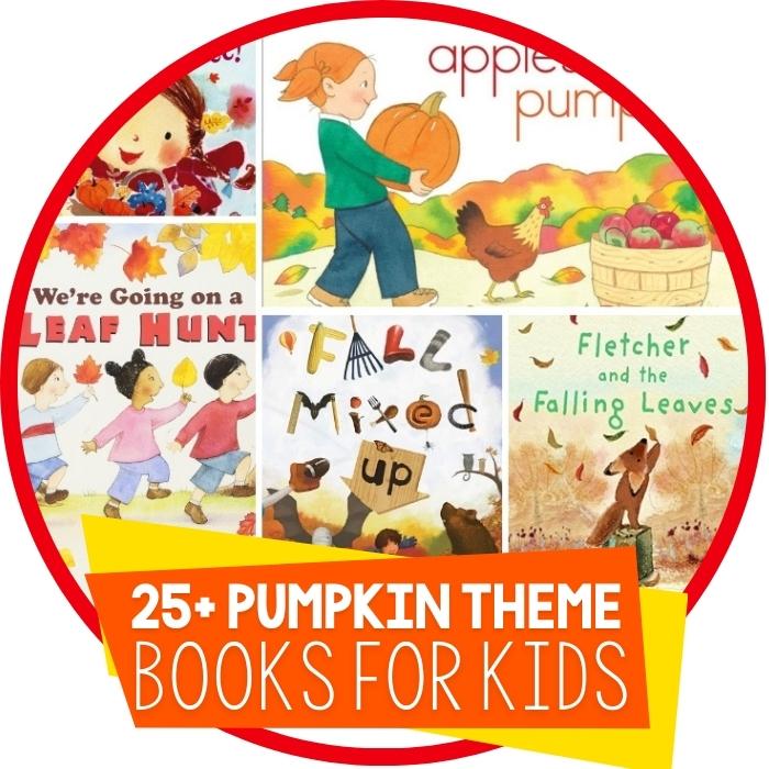 25+ Pumpkin Books Your Kids Will Love