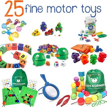 25+ Fine Motor Toys & Activities Kids Will Love