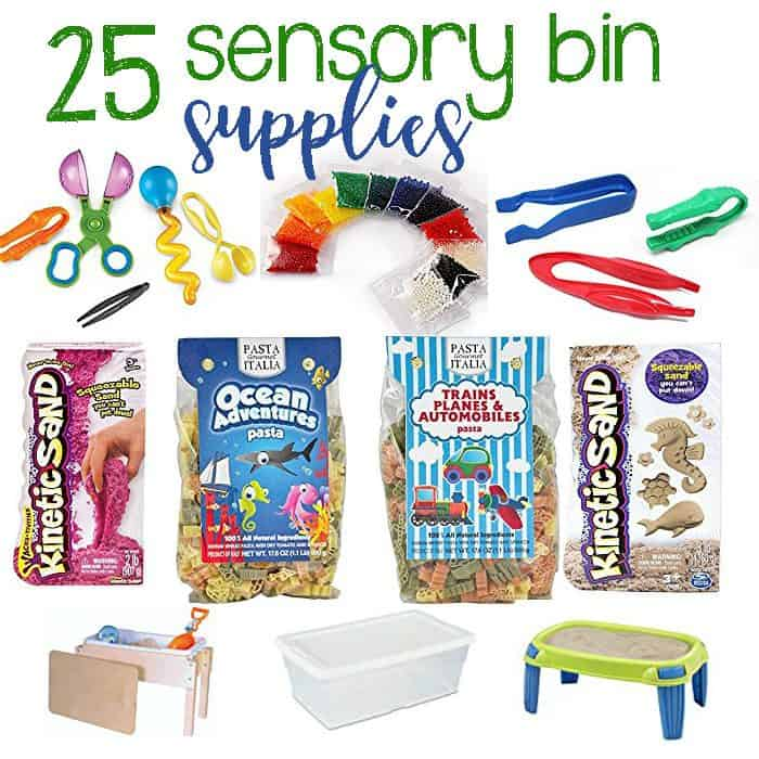 Fun Sensory Bin Supplies Your Child Will Love