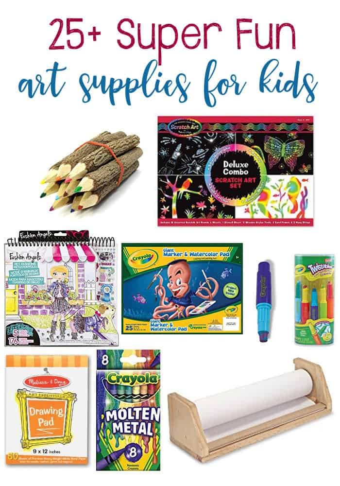 25+ Art Supplies Your Child Will Love!