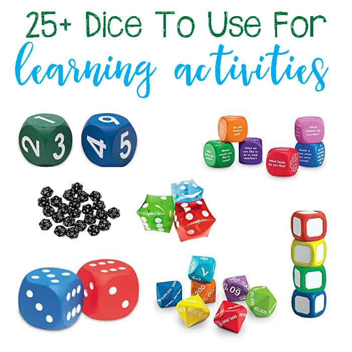 25+ Awesome Dice for Hands-On Learning