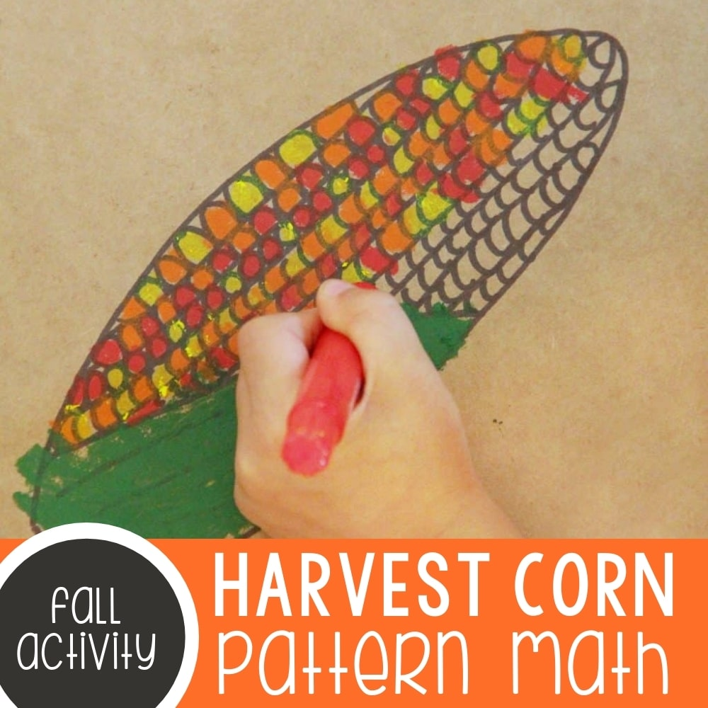 Harvest Corn Pattern Math Art Featured Square Image