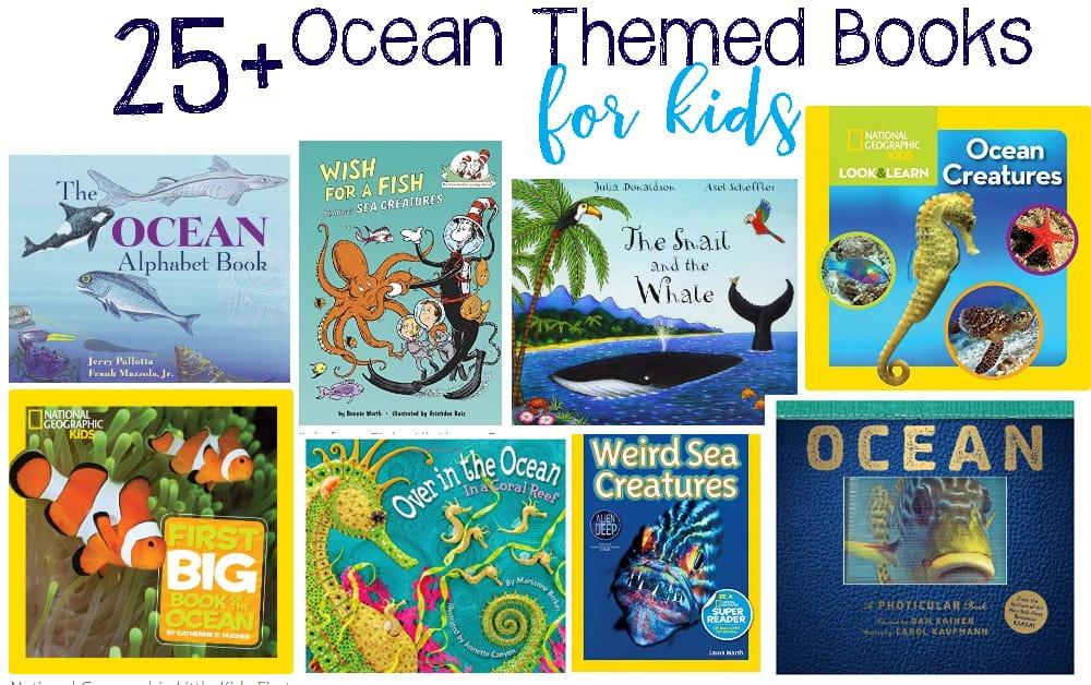 25 ocean books your children will go crazy over