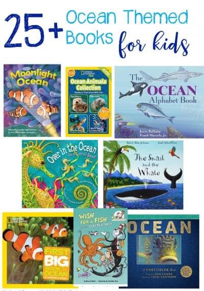 25+ Ocean Theme Books for Kids