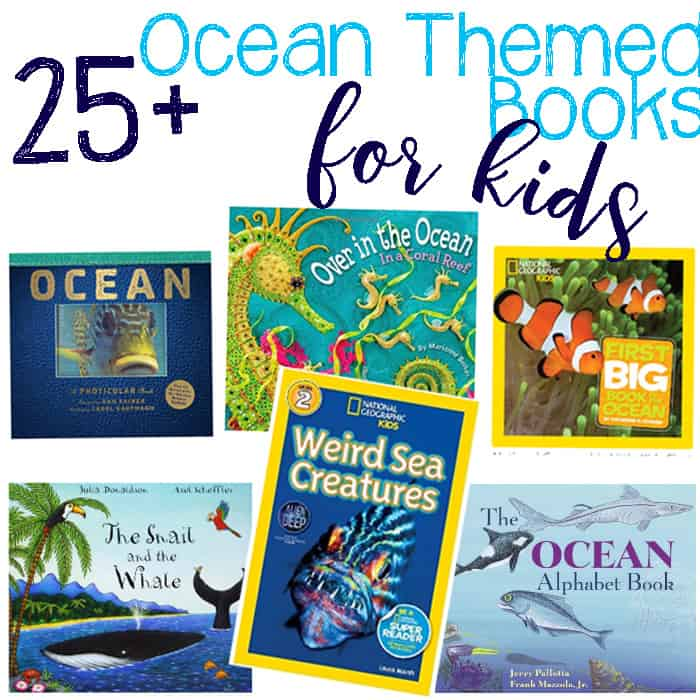 25+ Fiction & Non-Fiction Books About The Ocean That Your Children Will Love!