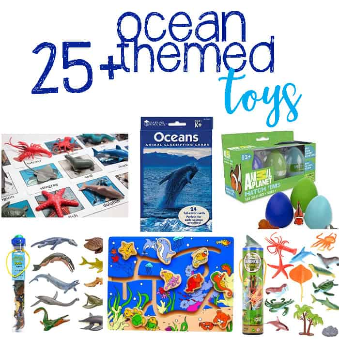 25+ Ocean Themed Toys and Activities Your Kids Will Love