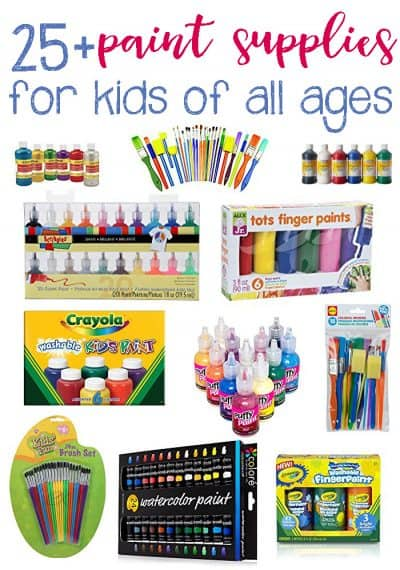 Paint Supplies for Kids: From Toddlers to Teens