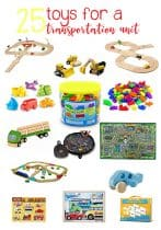 Toys to Create an Awesome Transportation Unit