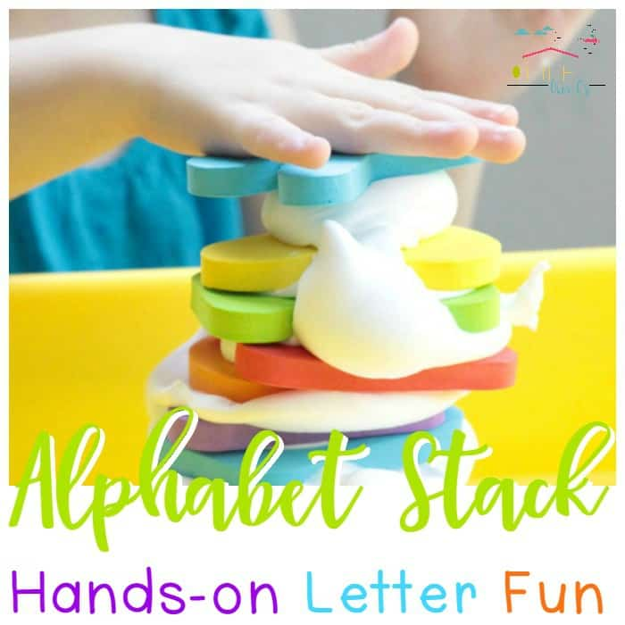 Alphabet Stacking