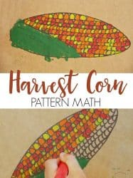 Harvest Corn Pattern Math Art