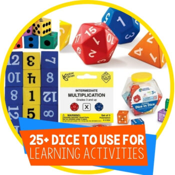 25+ Awesome Dice for Hands-On Learning Featured Image