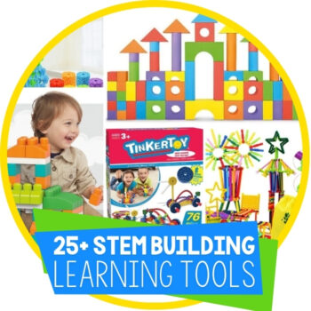 25+ Awesome STEM Toys for Building Featured Image