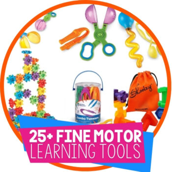 25+ Toys and Activities for Fine Motor Skills Featured Image