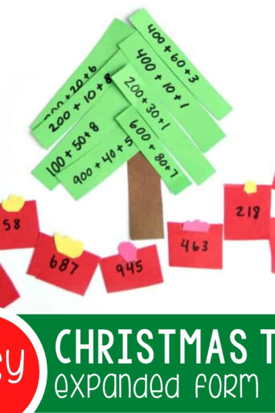 Expanded Form Math Christmas Activity Featured Square Image (1)