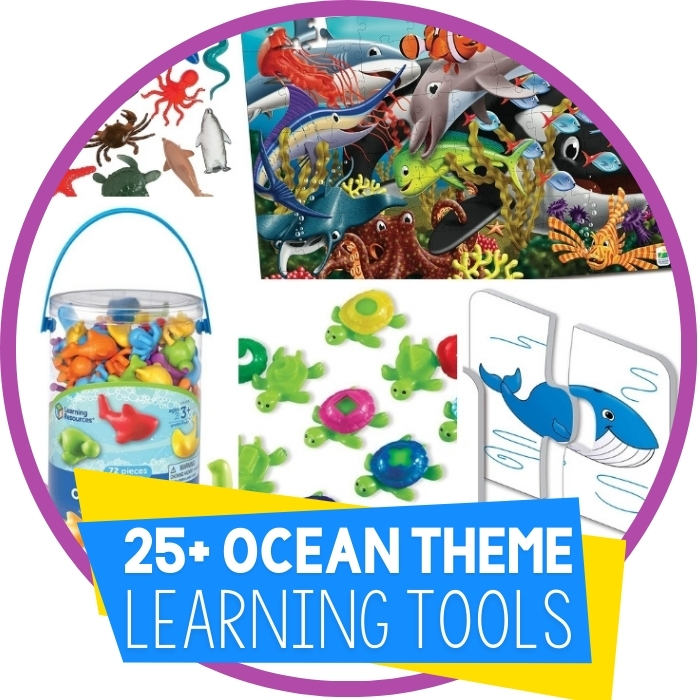 Ocean Theme Activities and Toys Kids Will Love Featured Image