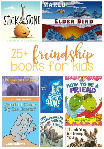 25+ Friendship Books For Kids. Help teach the ins and outs of being a good friend and what it means to not be a good friend. These are fantastic for classroom libraries and home!
