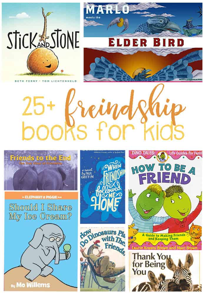 25+ Friendship Books For Kids. Perfect for a home collection or classroom library