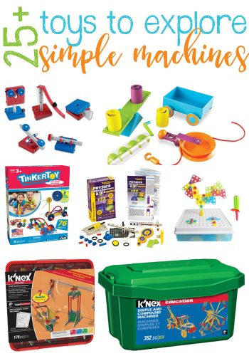 25+ Fun Toys For Exploring Simple Machines & Physics Of Them. Help develop fine motor skills, cause & effect and more.