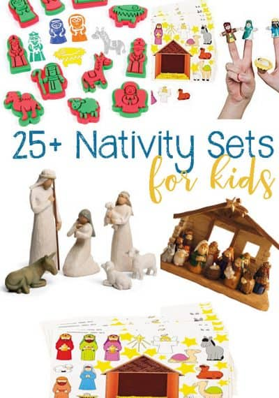 25+ Nativity Sets and Nativity Activities For Kids