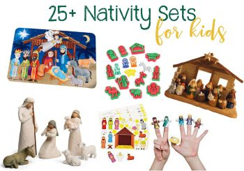 25+ Nativity Sets For Kids: Figurines, Hands On Activities, Crafts, Etc.