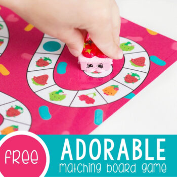 Adorable Free Printable Matching Game for Preschoolers Featured Square Image