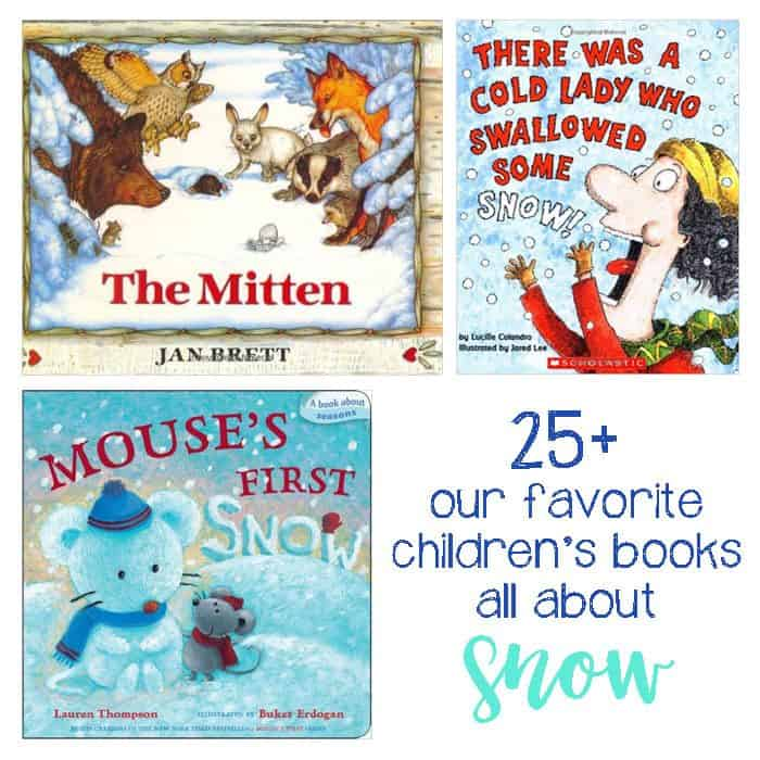25+ Snow Books For Kids. Whether you live in snow or in warmer climate, these snow books are perfect for story time in the winter!
