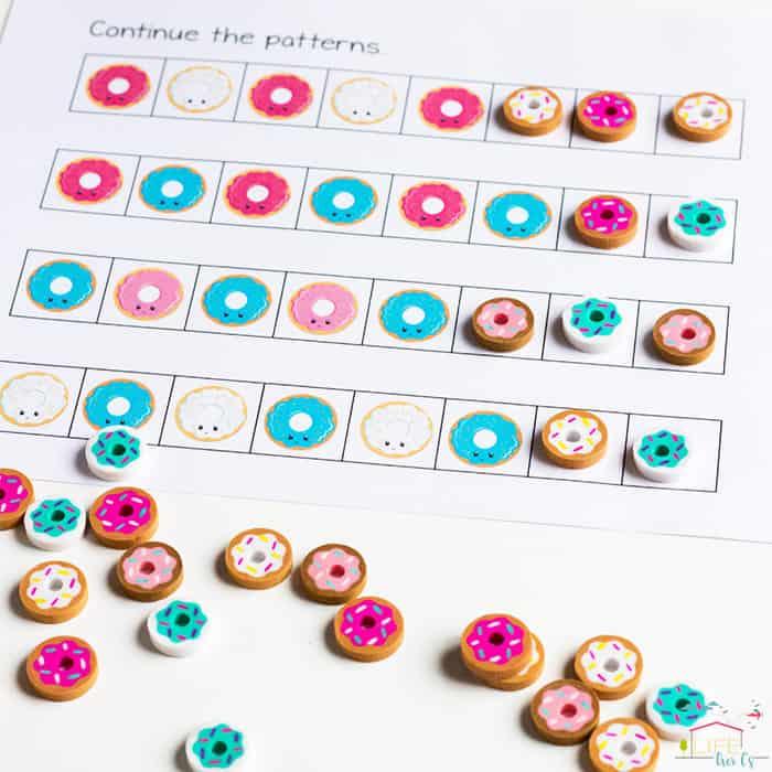 Donut Mini Erasers