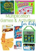 Super fun hands-on Multiplication Games and Activities to help kids learn this math skill. These are perfect for in the classroom or at home!