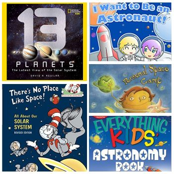 25+ Outer Space Books Your Kids Will Love To Read! Perfect for a home collection or classroom library!