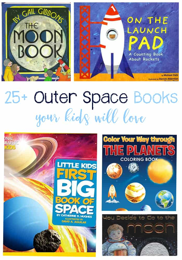 25 Awesome Outer Space Books For Kids Spread The Love