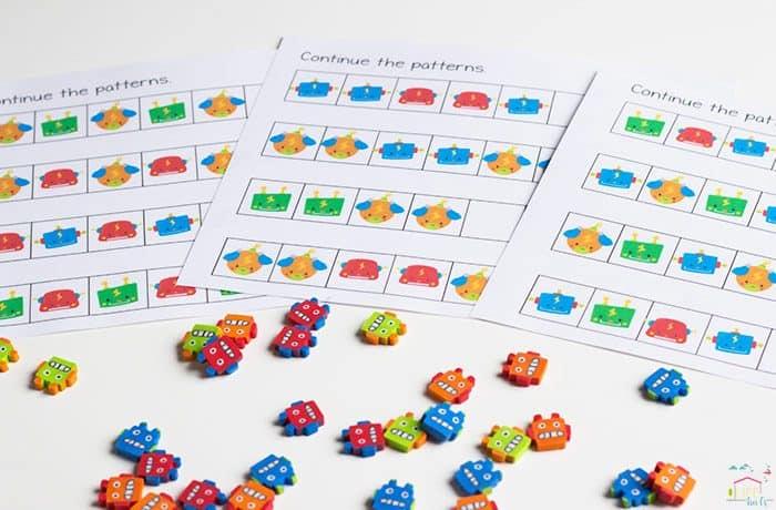 Robot-Mini-Eraser-Math-Pack3