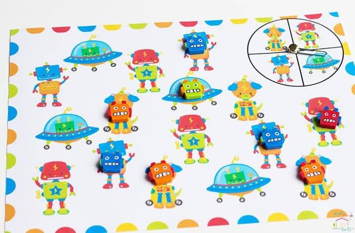 Robot-Mini-Eraser-Math-Pack7