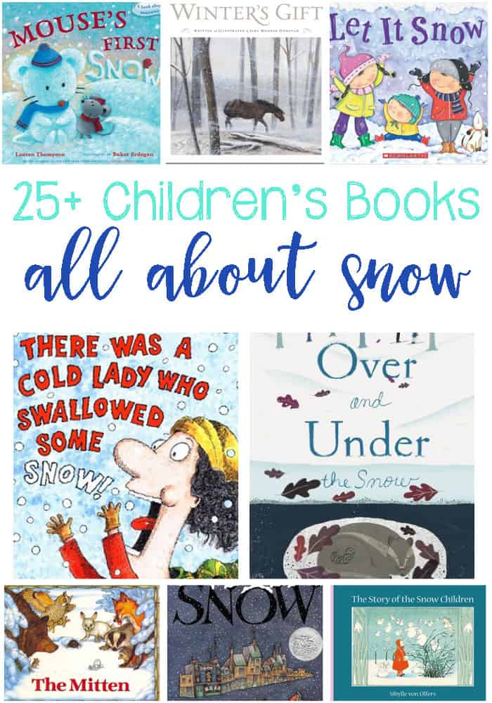Is snow falling all around you? Has winter emerged? These books are fabulous for teaching kids all about snow or adding to a snow themed unit!
