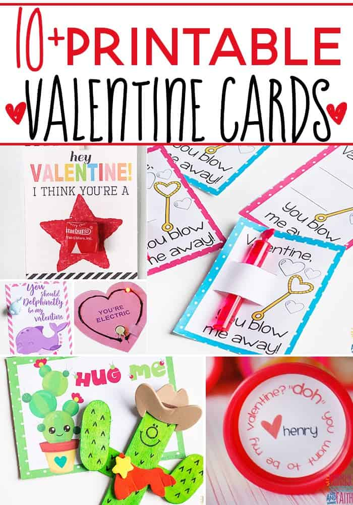 graphic regarding Printable Valentines Cards for Kids known as 10+ Tremendous Lovable Valentine Playing cards By yourself Can Create With Your Small children